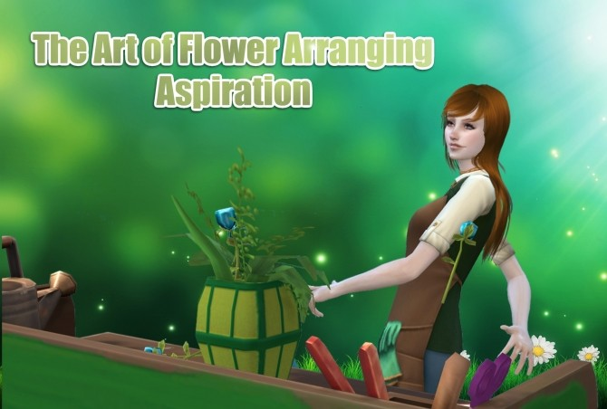 Sims 4 The Art of Flower Arranging by Itsmysimmod at Mod The Sims