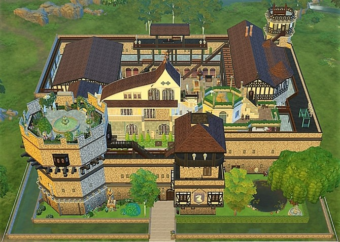 Medieval vonWinden Castle by helene912 at Mod The Sims image 5518 670x476 Sims 4 Updates