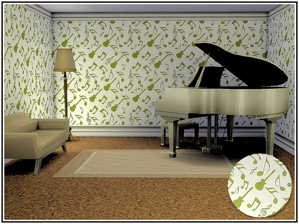 Musicale 2 Walls by marcorse at TSR image 554 Sims 4 Updates