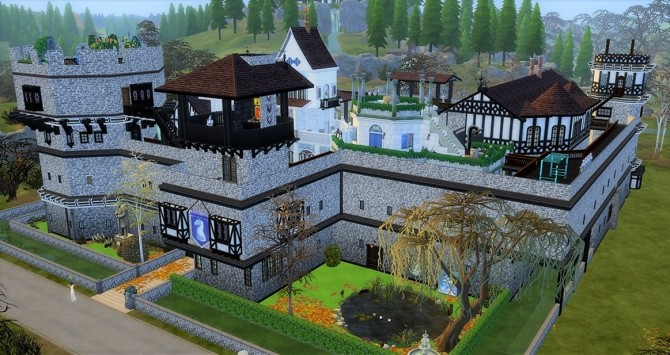 Medieval vonWinden Castle by helene912 at Mod The Sims image 5618 670x355 Sims 4 Updates