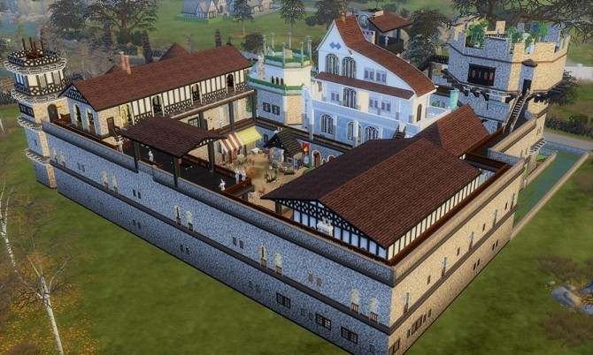 Medieval vonWinden Castle by helene912 at Mod The Sims image 5717 670x402 Sims 4 Updates