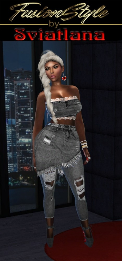 Sims 4 New look at FusionStyle by Sviatlana