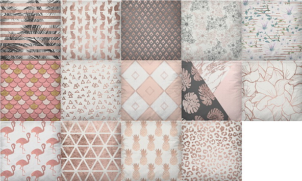 Rose Gold Decor Set recolors by TaTschu at Blooming Rosy image 579 Sims 4 Updates