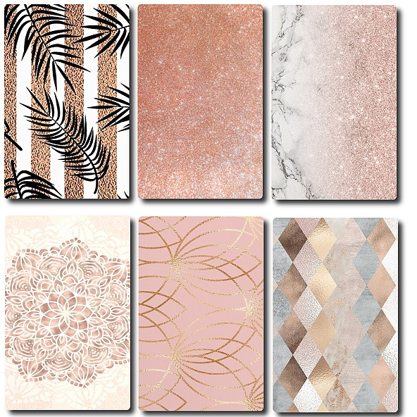 Rose Gold Decor Set recolors by TaTschu at Blooming Rosy image 5810 Sims 4 Updates