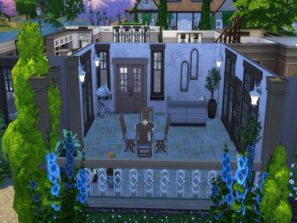 Rockliff Pass house by LJaneP6 at TSR image 594 Sims 4 Updates