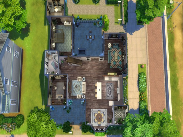 Rockliff Pass house by LJaneP6 at TSR image 604 Sims 4 Updates