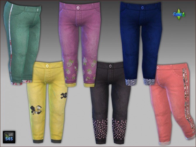Shirts, jeans and shoes for toddler girls by Mabra at Arte Della Vita image 6110 670x503 Sims 4 Updates