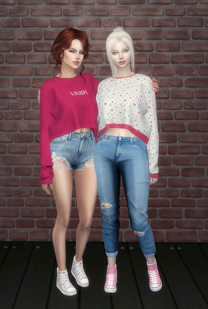 DaisyPixels Tay Sweater recolors at SkyFallSims Creation´s image 6111 670x993 Sims 4 Updates