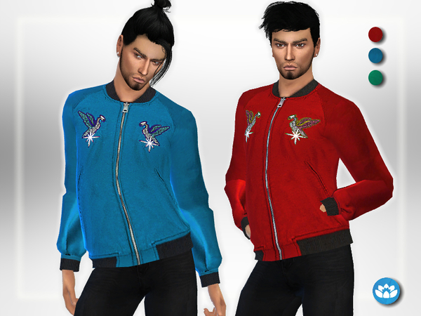Bomber Jacket by Puresim at TSR image 6115 Sims 4 Updates