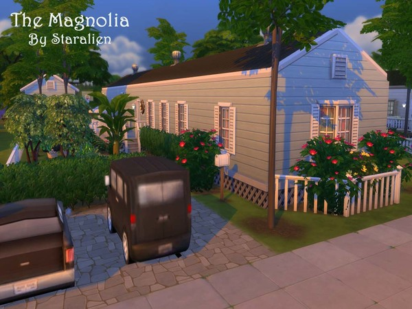 Sims 4 The Magnolia large mobile home by staralien at TSR