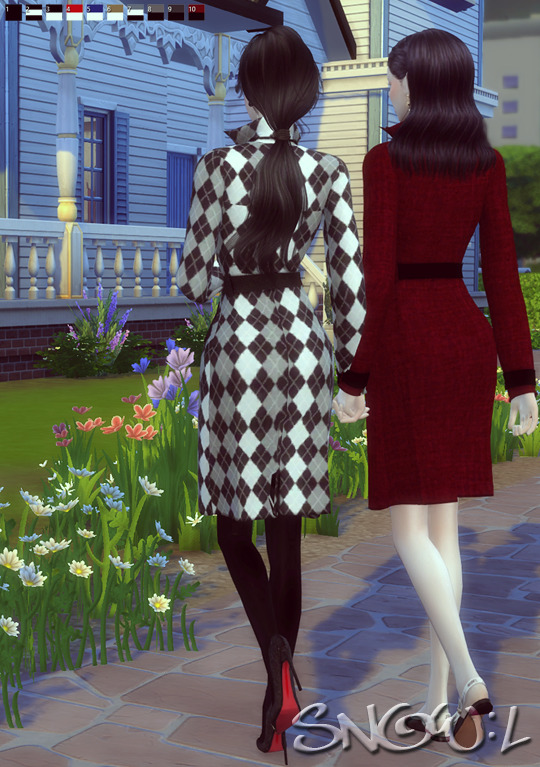 FB T coat at SNOW:L image 643 Sims 4 Updates
