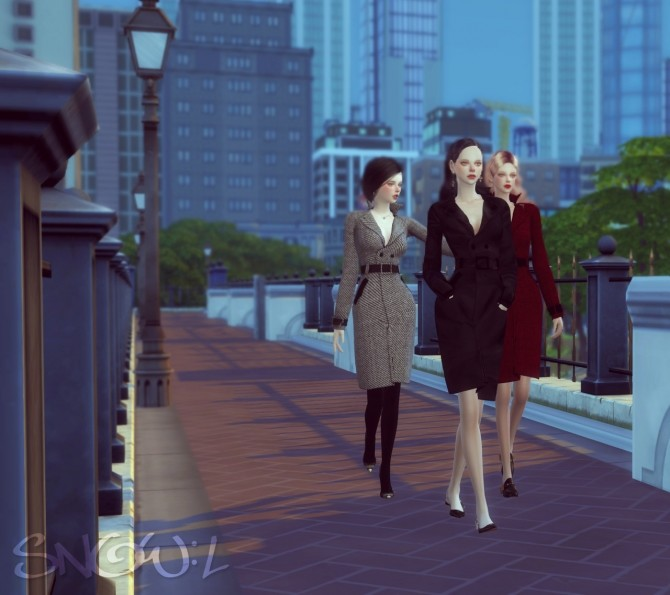 FB T coat at SNOW:L image 653 670x595 Sims 4 Updates