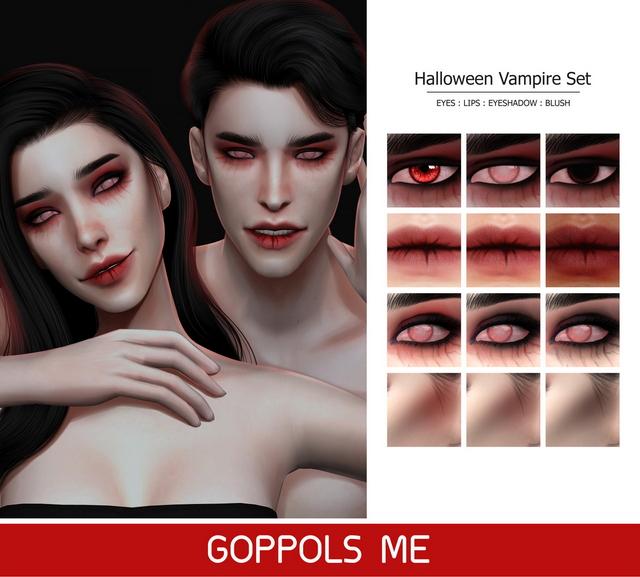Sims 4 GPME Halloween Vampire Set at GOPPOLS Me