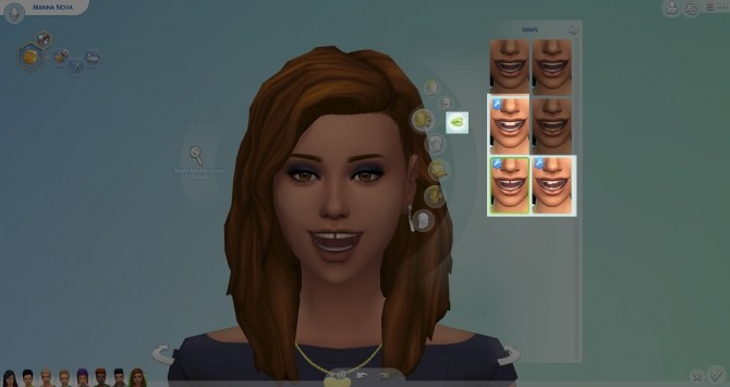 Teeth (Gap, buck and snaggle) by Nova JY at Mod The Sims image 69 670x355 Sims 4 Updates