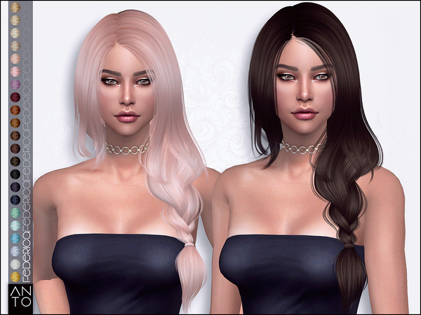 Federica Hair by Anto at TSR image 7012 Sims 4 Updates