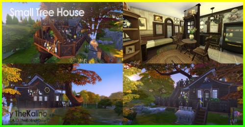 Sims 4 Small Tree House at Kalino