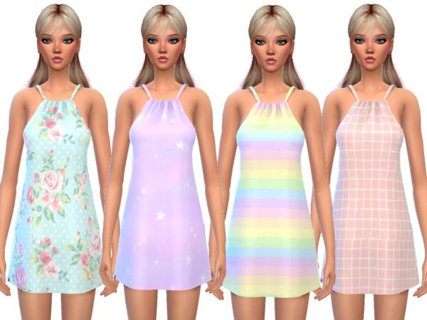Kawaii Pajama Dress by Wicked Kittie at TSR image 703 Sims 4 Updates