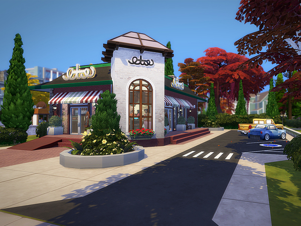 Sims 4 Olives restaurant NO CC by melcastro91 at TSR
