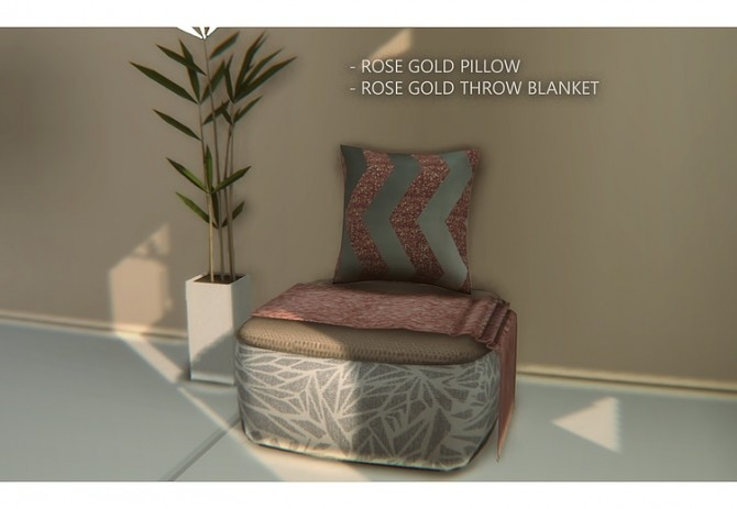 Francesca Rose Gold Decor by daer0n at Blooming Rosy image 7211 670x463 Sims 4 Updates
