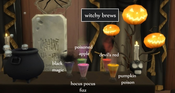 Witchy Brew Cauldron by icemunmun at Mod The Sims image 7219 670x358 Sims 4 Updates