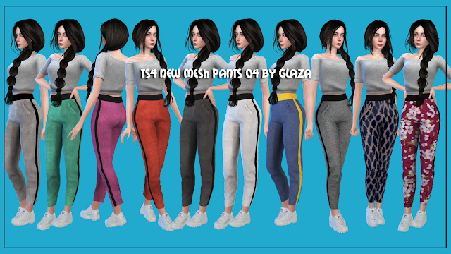 Pants 06 at All by Glaza image 723 Sims 4 Updates