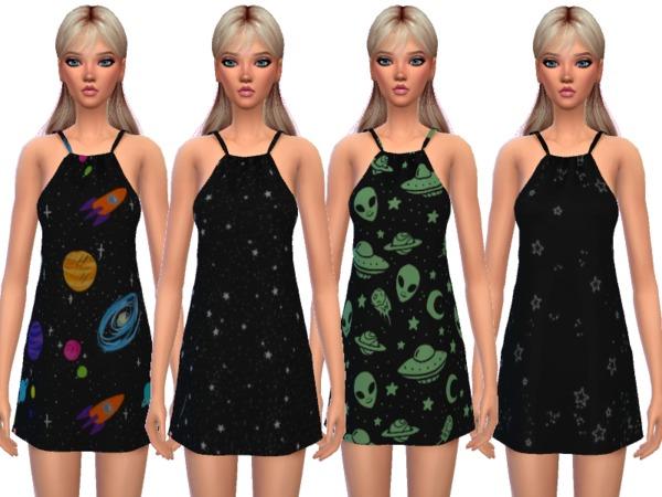 Kawaii Pajama Dress by Wicked Kittie at TSR image 724 Sims 4 Updates