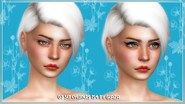 Eyeliner set 03 at All by Glaza image 7310 Sims 4 Updates