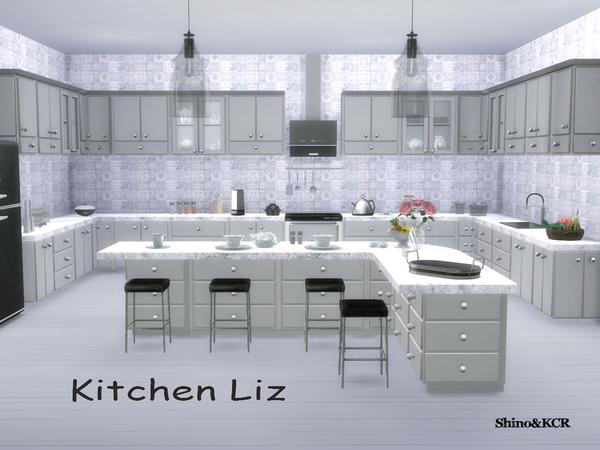 Kitchen Liz by ShinoKCR at TSR image 7316 Sims 4 Updates