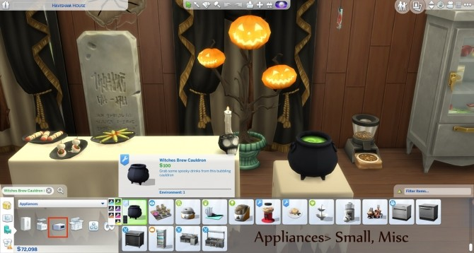 Witchy Brew Cauldron by icemunmun at Mod The Sims image 7317 670x358 Sims 4 Updates