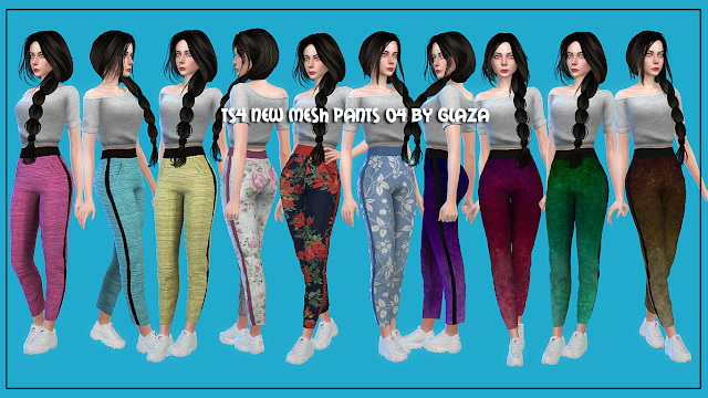 Pants 06 at All by Glaza image 733 Sims 4 Updates