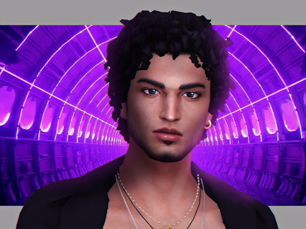 Sims 4 Markus male hair by WistfulCastle at TSR