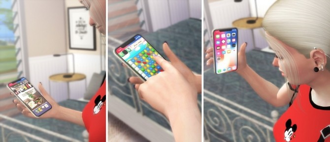iPhone XS Functional at Descargas Sims image 7415 670x290 Sims 4 Updates