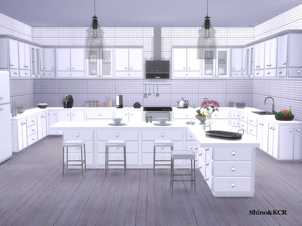 Kitchen Liz by ShinoKCR at TSR image 7416 Sims 4 Updates