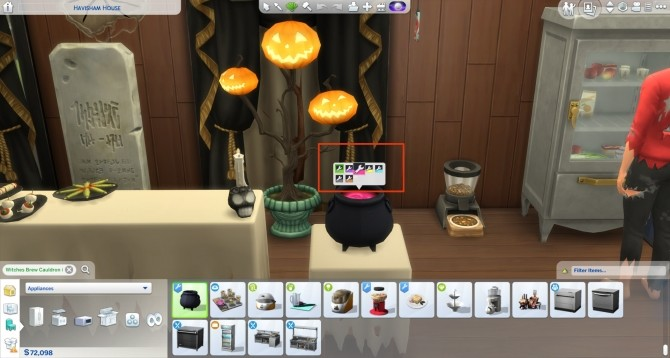 Witchy Brew Cauldron by icemunmun at Mod The Sims image 7516 670x358 Sims 4 Updates