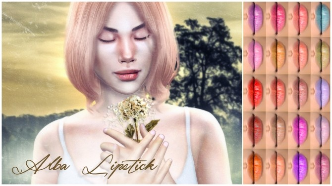 Alba Lipstick at Katverse image 771 670x377 Sims 4 Updates