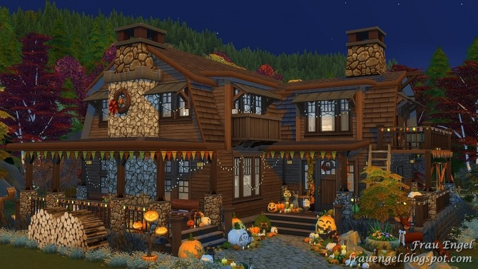 Autumn Paradise house at Frau Engel image 776 670x377 Sims 4 Updates