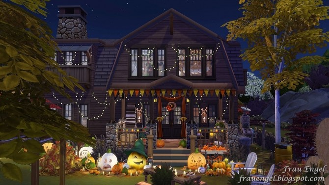 Autumn Paradise house at Frau Engel image 787 670x377 Sims 4 Updates