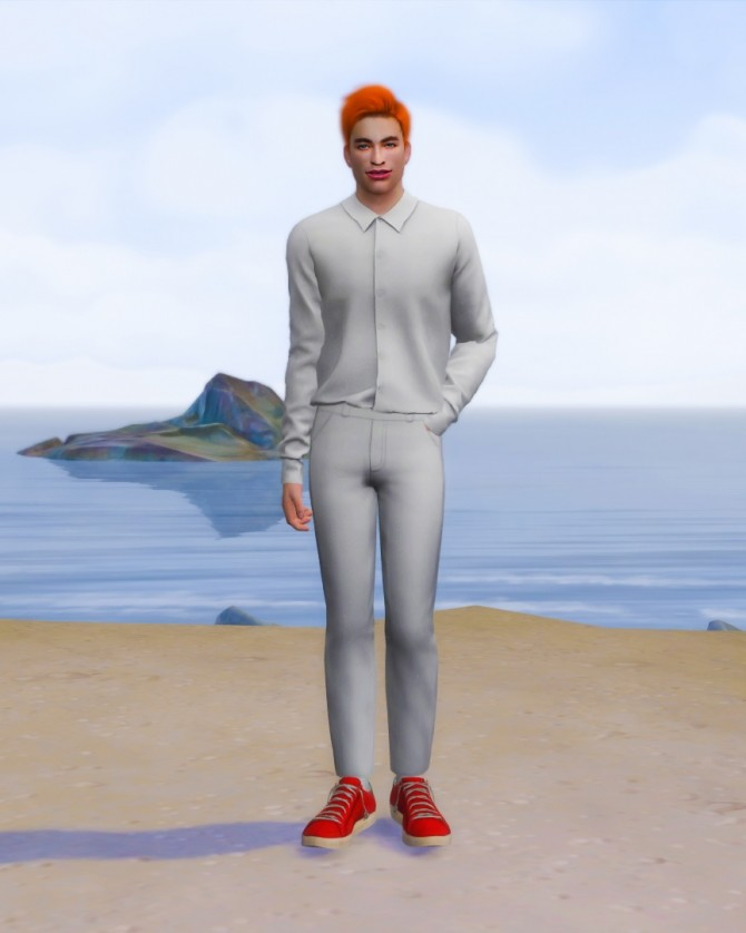 Sims 4 Jason Blossom at Katverse