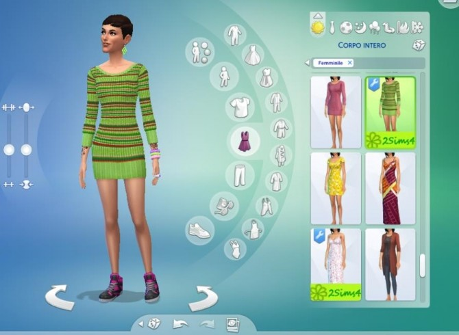 3 mini dresses for autumn by lurania at Mod The Sims image 82 670x490 Sims 4 Updates