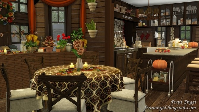 Autumn Paradise house at Frau Engel image 828 670x377 Sims 4 Updates
