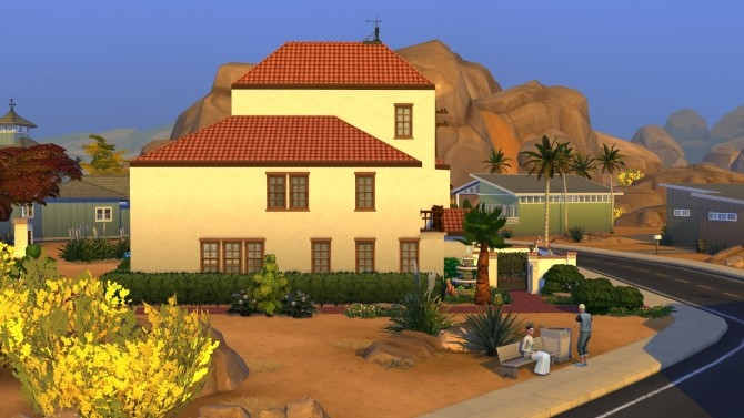 Condensed Mediterranean House by kiimy 2 Sweet at Mod The Sims image 8511 670x377 Sims 4 Updates