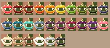 Sims 4 Fang Lips Earrings at Tukete