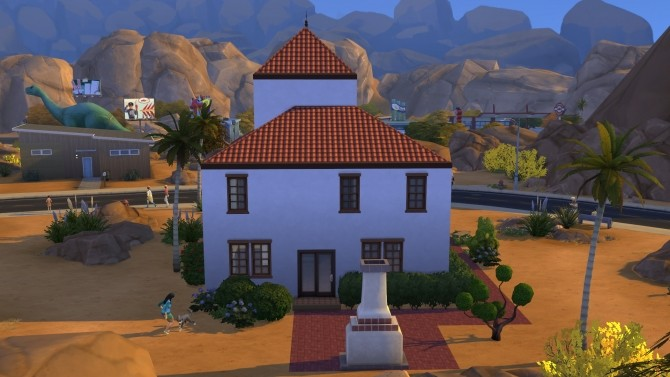 Condensed Mediterranean House by kiimy 2 Sweet at Mod The Sims image 8611 670x377 Sims 4 Updates