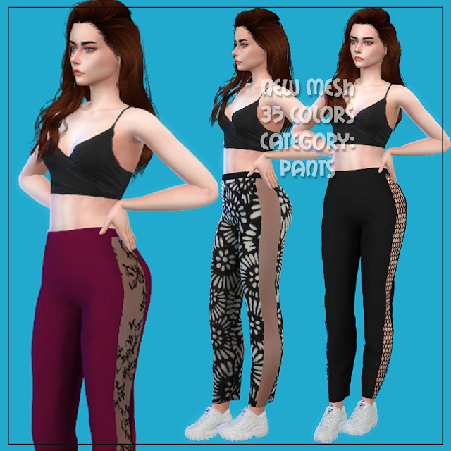 Sims 4 Pants 05 at All by Glaza