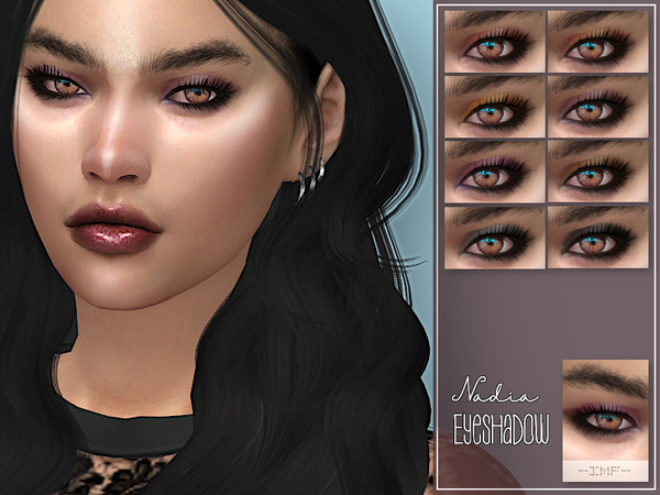 IMF Nadia Eyeshadow N.53 by IzzieMcFire at TSR image 875 Sims 4 Updates
