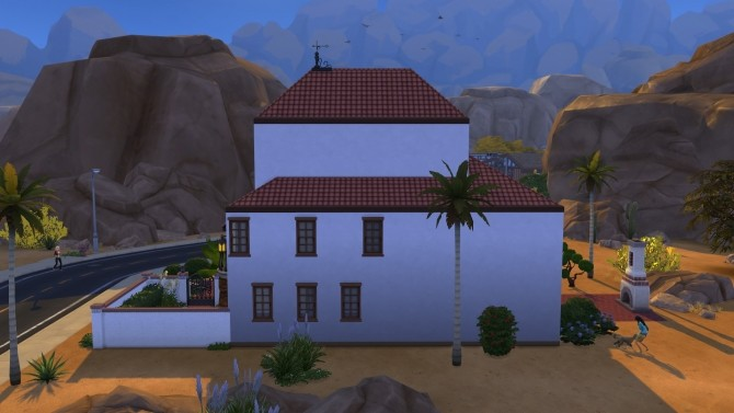 Condensed Mediterranean House by kiimy 2 Sweet at Mod The Sims image 8811 670x377 Sims 4 Updates