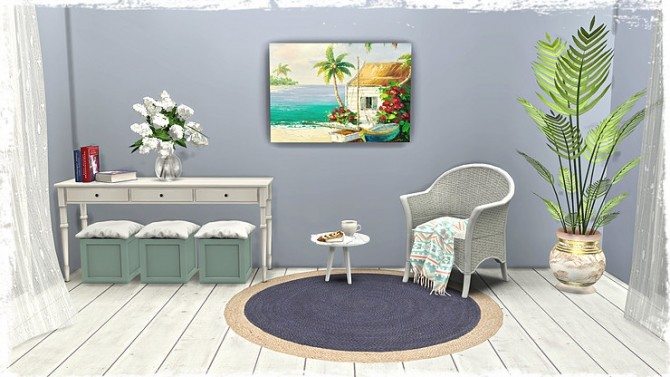 Beach/Coastal Paintings Part1 by TaTschu at Blooming Rosy image 8817 670x377 Sims 4 Updates