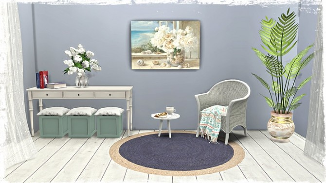 Beach/Coastal Paintings Part1 by TaTschu at Blooming Rosy image 8918 670x377 Sims 4 Updates
