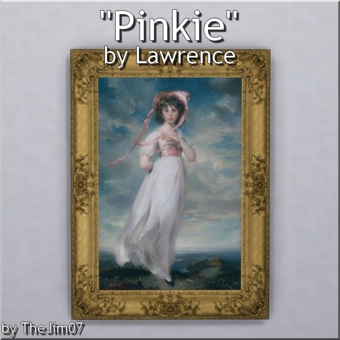 Sims 4 Pinkie by Lawrence by TheJim07 at Mod The Sims