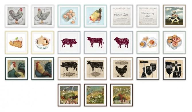 Farmhouse Kitchen Set at SimPlistic image 902 670x392 Sims 4 Updates